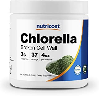 Sponsored Ad - Nutricost Chlorella Powder 4oz - Chlorella, 3000mg Per Serving, Non-GMO & Gluten Free