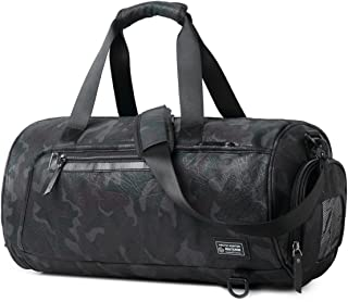 Sports Gym Bag Travel Duffel Backpack for Women and Men Overnight Travel Tote Bag with Shoe Compartment