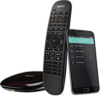 Logitech Harmony Companion All in One Remote Control for Smart Home and Entertainment..