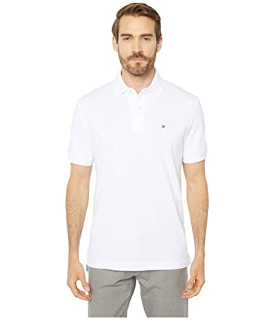 Tommy Hilfiger Adaptive Ivy Polo Shirt Regular Fit (Bright White) Men