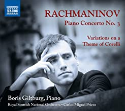Piano Concerto 3 / Variations on Theme of Corelli