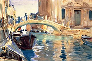 38 Most Famous Paintings - $50-$1000 Hand Painted by Academic Artists - Ponte San Giuseppe di Castello John Singer Sargent...