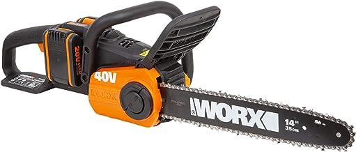 Sponsored Ad – WORX WG384E 36V (40V Max) Dual Battery Cordless 35cm Brushless Chainsaw