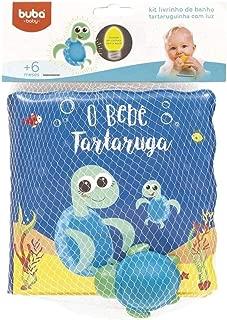 Livrinho De Banho Tartaruga Com Luz - Buba