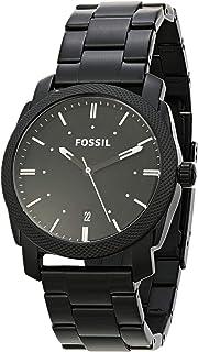 Relógio Analogico Fossil Masculino Caixa Aço Preto(A); Pulseira Aço Preto(A)