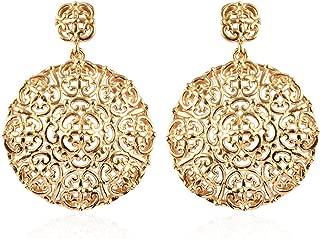 Best 18k yellow gold earrings Reviews