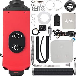 Bisujerro Calentador de Aire Diesel 12V 3KW Calentador de Combustible Calefacción Estacionaria Diesel Calentador Coche Diesel Aire Calentador de Estacionamiento Calentador Motor Diesel