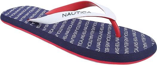 Nautica Men's Del-Ray 2 Flip Flop, Rubber Thong, Beach Sandal