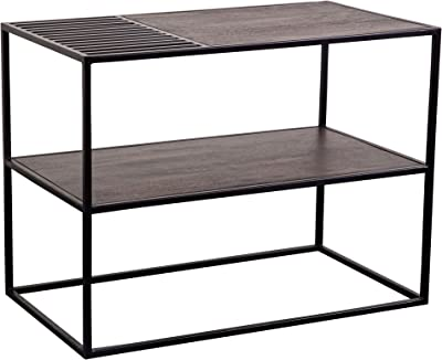 Porter Designs Corbu Console Table, Regular, Brown