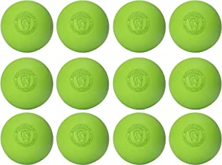 Signature Lacrosse Ball Set - Massage Balls, Myofascial Release Tools, Back Roller, Muscle Knot Remover, Firm Rubber -Scientifically Designed for Durability