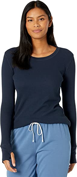 Thermal Long Sleeve Tee with Thumb-Holes