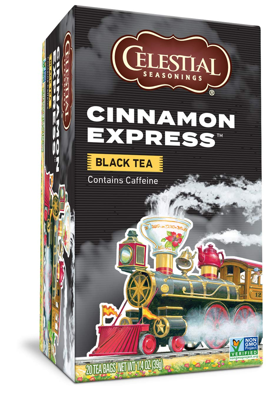 Celestial Seasonings Black Tea Caffe Al sold out. Express OFFicial shop Cinnamon Contains