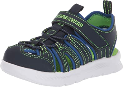 TALLA 21 EU. Skechers C-flex Sandal 2.0 Heat Blast, Sandalias para pescador Niños