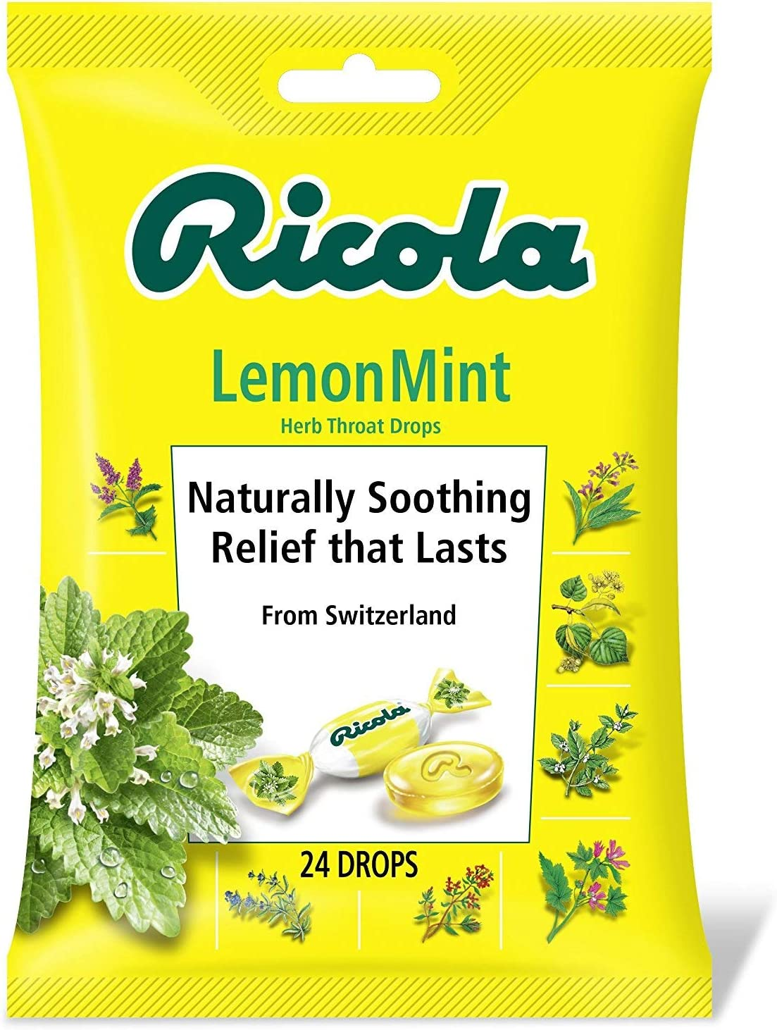 RICOLA Cough Drop Lemon shipfree Each 24 All items in the store Mint