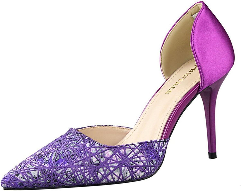 Tirahse Comfortable Women's Pointed-Toe D'Orsay Dress Pump