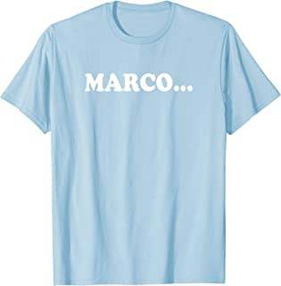 MARCO Shirt | Funny Beach Swimming Pool Polo TShirt