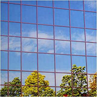 Buydecorativefilm BDF S15 Window Film One Way Mirror Silver 15 (Dark) - 24in X 24ft