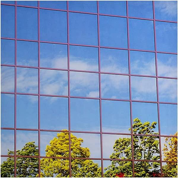 BDF S15 Window Film One Way Mirror Silver 15 Dark 48in X 24ft