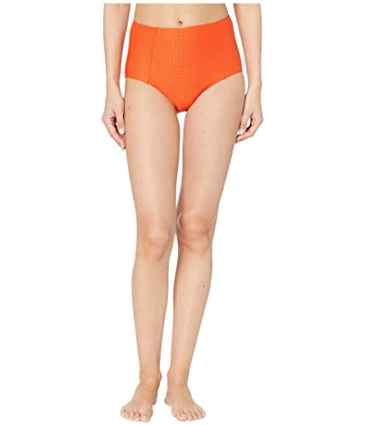 Seafolly La Luna High Waisted Bikini Pants (Tangelo) Women
