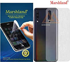MARSHLAND Matte Finish Back Screen Protector Flexible Anti Scratch Bubble Free Back Screen Guard Compatible for Samsung Galaxy A50