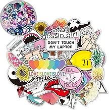 86 Vinyl Stickers Pack for Laptop Water Bottles Teen Girls Trendy Aesthetic Cute Laptop Decal Stickers Waterproof