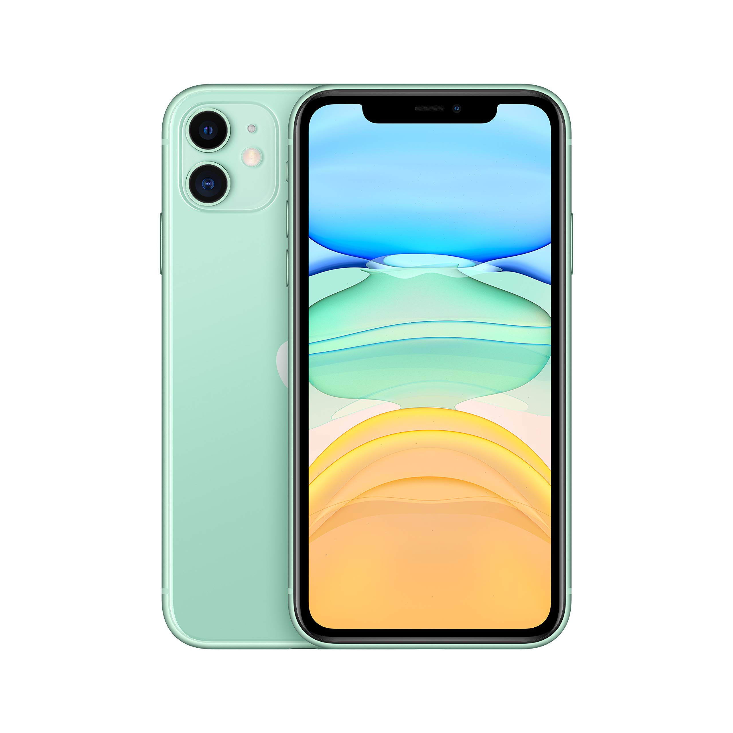 Apple iPhone 11 (64GB, Green) [Locked] + Carrier Subscription
