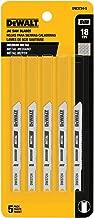 DEWALT DW3724-5 3-Inch 18 TPI Medium Metal Cut Cobalt Steel U-Shank Jig Saw Blade (5-Pack)