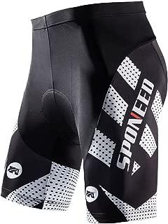 sponeed Men's Cycling Shorts Padded Bicycle Riding Pants...