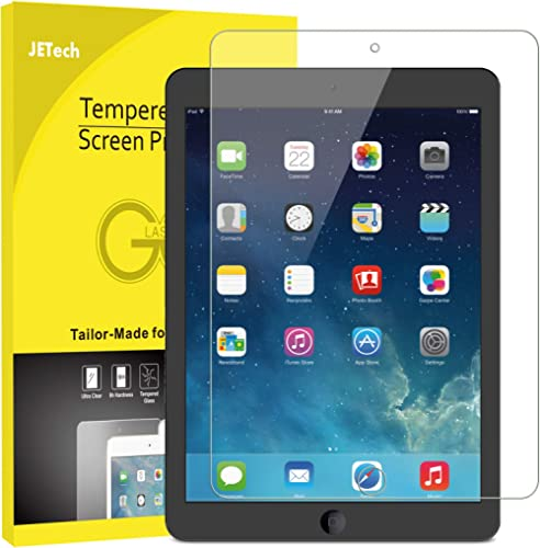 JETech Screen Protector for iPad (9.7-Inch, 2018/2017 Model, 6th/5th Generation), iPad Air 1, iPad Air 2, iPad Pro 9....