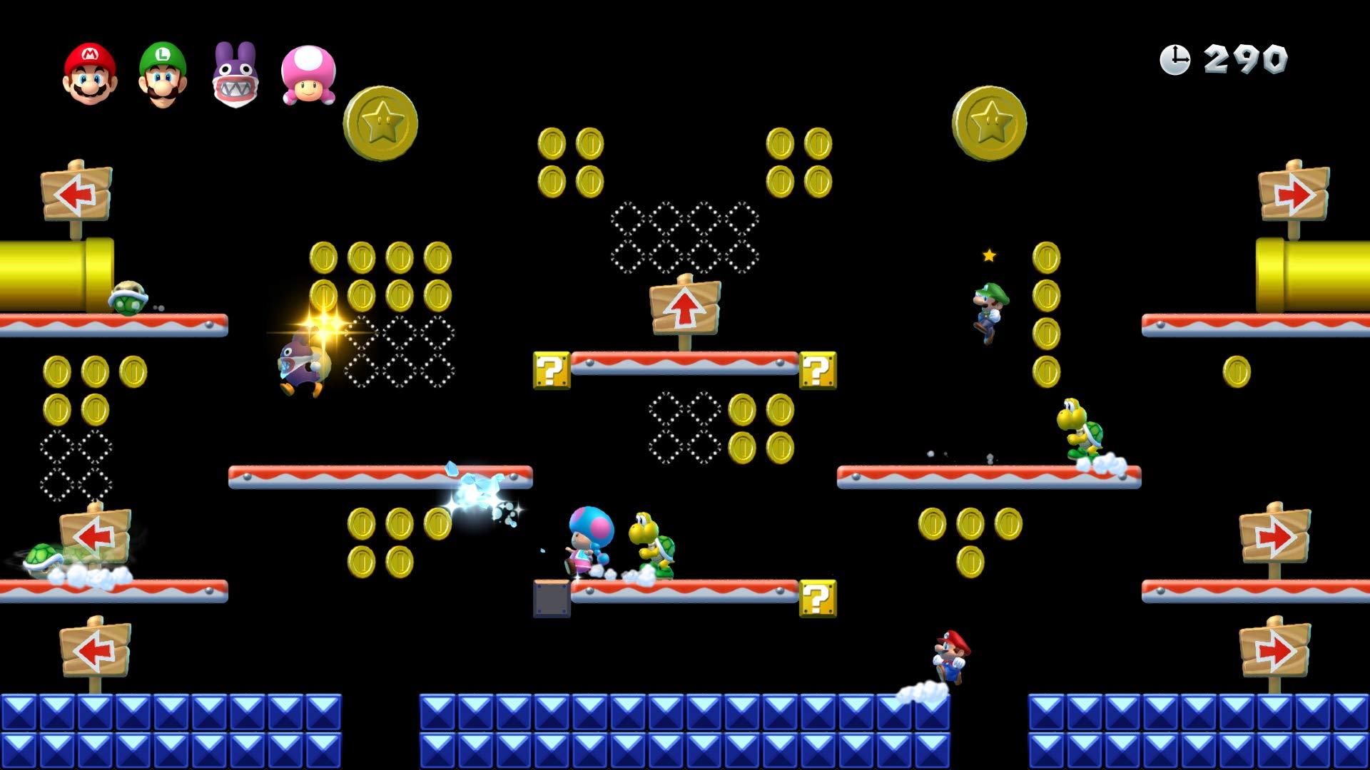New Super Mario Bros. U Deluxe - Nintendo Switch  Mario Kart 8 Deluxe - Nintendo Switch  The Legend of Zelda: Breath of the Wild (Nintendo Switch)  Super Mario Odyssey - Nintendo Switch  Super Mario Party  LEGO Ninjago Movie Game: Videogame (Nintendo Switch)