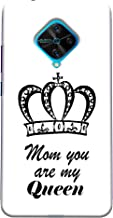 ECFAK Polycarbonate Queen Mom Printed Back Cover Compatible for Vivo S1 Pro