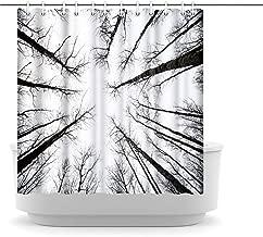 "Innopics Saguaro Cactus Wildflowers Picture Printed Shower Curtain Sonoran Desert Sunrise Scenery Bath Curtain Waterproof Polyester Fabric Bathroom Curtain with 12 Hooks 72"" x 72"" 180x180cm Multi"