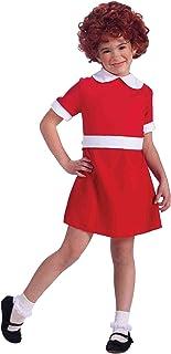(m(8-10)) - Girls Little Orphan Annie Child Halloween Costume size Medium 8-10