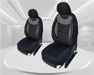 Maß Sitzbezüge kompatibel mit Mitsubishi L200 6. Gen. Fahrer & Beifahrer ab 2019 Farbnummer: G101