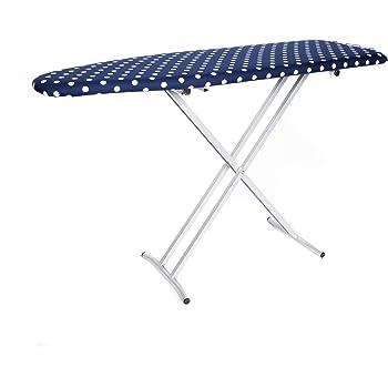Benesta Classic T-Leg Wood Ironing Board (Blue Dot)