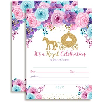 Disney Princess Dream Party Invitations /&Thank-You Postcards 8 each by Hallmark 1INV3886