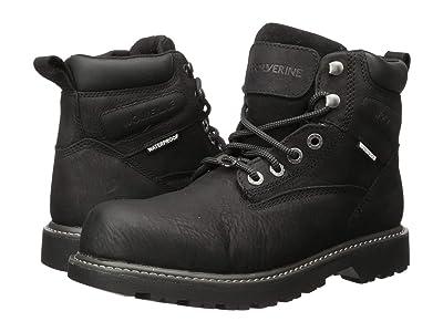 Wolverine Floorhand Steel Toe Puncture Resistant 6 Boot (Black) Men