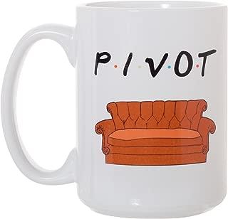Pivot Mug - 15 oz Deluxe Large Double-Sided Mug