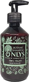 Champú Vegano y Botánico con Aloe Vera y Ginseng - Origen Orgánico y Natural - Tratamiento Hidratante Sin Sulfatos Sin Par...