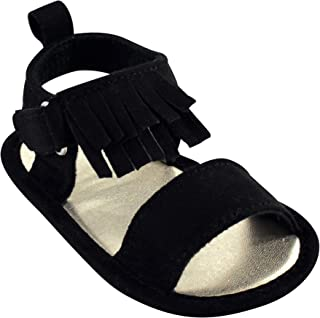 Luvable Friends Unisex-Child Crib Shoes Flat Sandal