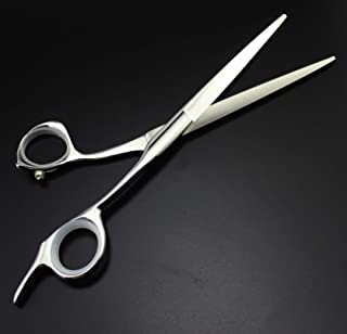 Professional Hairdressing Scissors 7 Inch - Stainless Steel Razor Sharp Shears - Barber Hair Cutting Scissors with Case,B,...