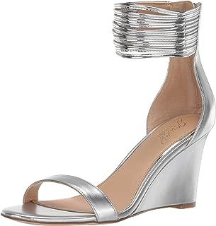 Women's Starry Wedge Sandal, Silver, 7.5 M US