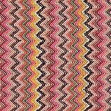 Fabulous Fabrics Strickstoff Chevron Zigzag – pink/rosa