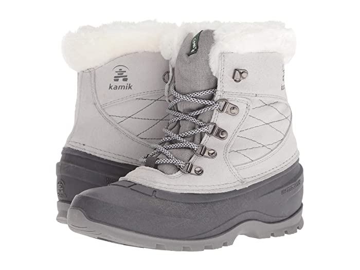 Kamik  SnoValleyL (Light Grey) Womens Cold Weather Boots