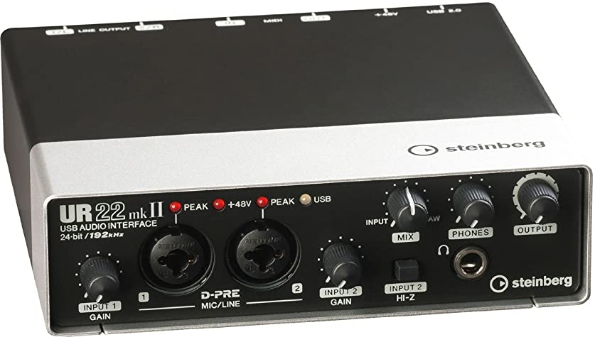 イースター牛肉車両Steinberg UR22MKII 2-Channel USB Interface [並行輸入品]