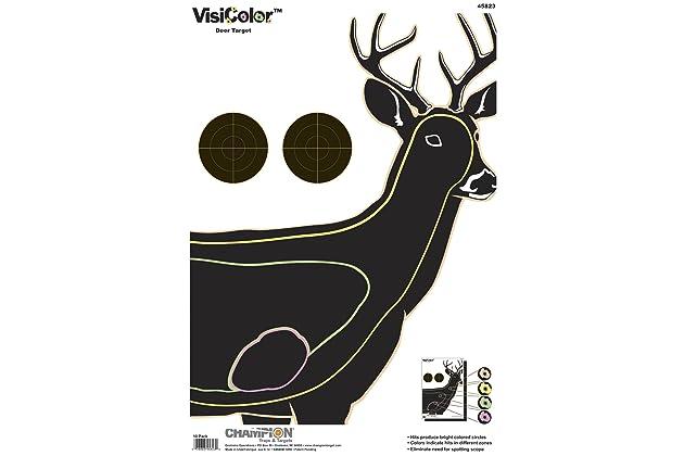 Champion Deer Vitals Paper Target 12ct 14x18