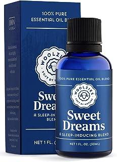 Woolzies Sweet Dreams Essential Oil Blend | Helps Sleep Better Faster Restful | Undiluted Therapeutic Grade (Sweet Dreams,...