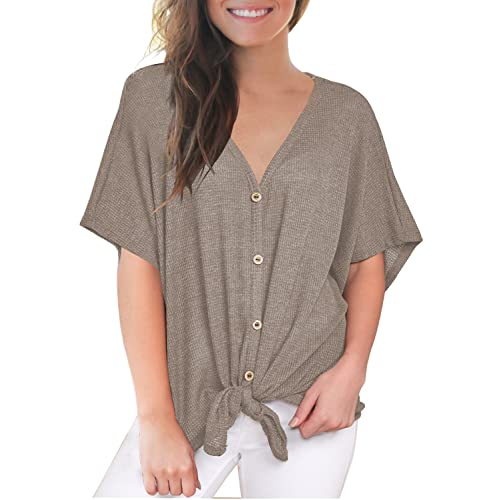 Women S Summer Shirts And Blouses Amazon Com
