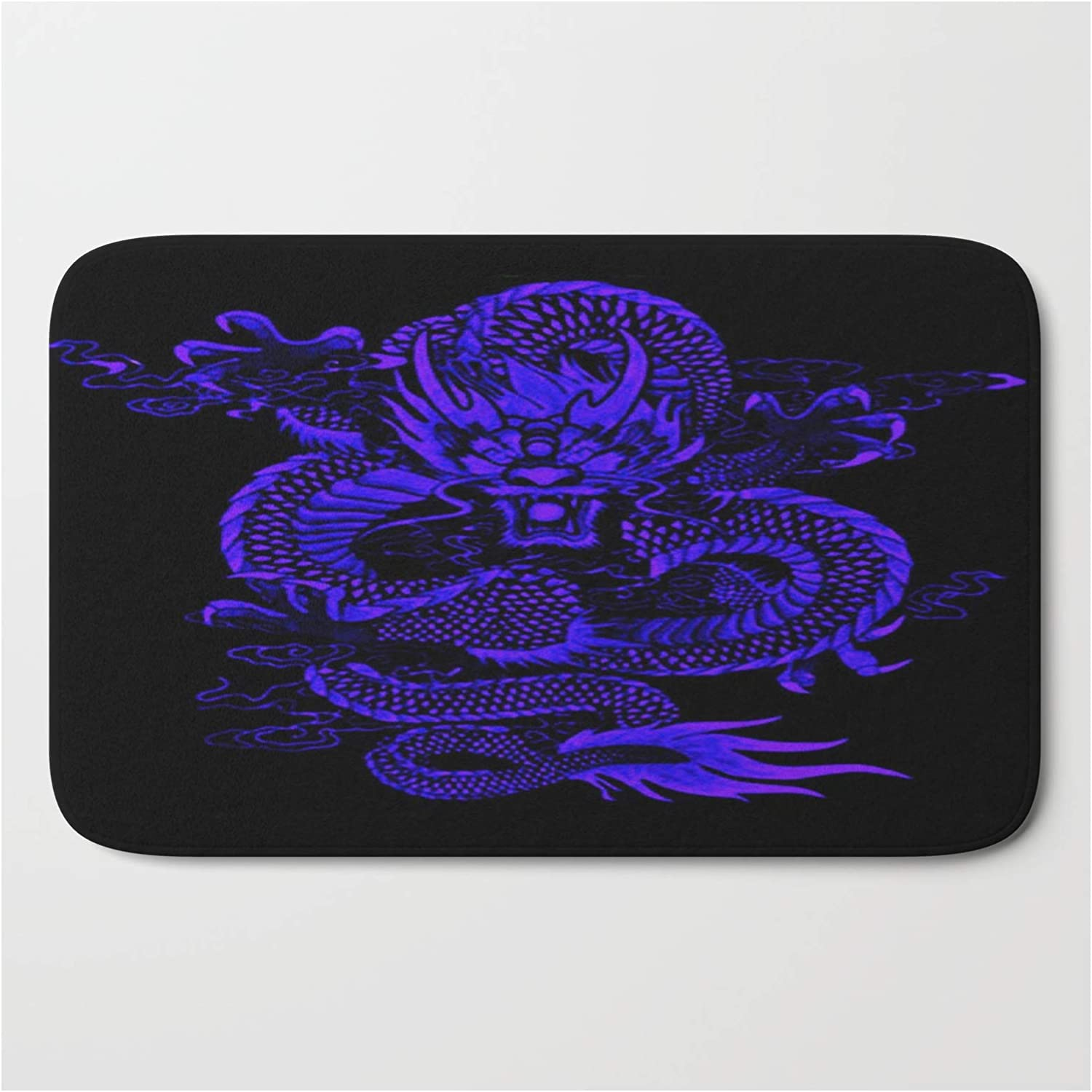 Society6 Epic Dragon Blue by Sermani on OFFicial Max 43% OFF mail order - 21