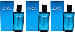 Cool Water By Davidoff For Men Deodorant Mild Spray 2.5 Oz (Pack of 3)